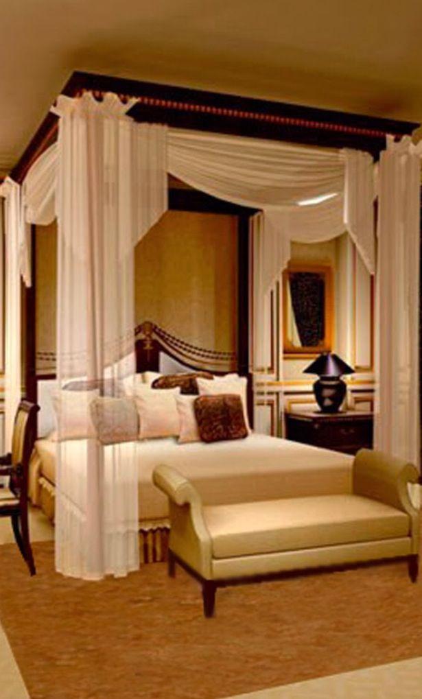 #Luxury Canopy Bed #manchesterwarehouse