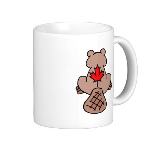 Maple Leaf Beaver Mug