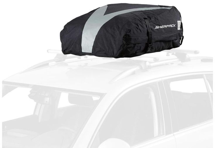 Car Roof Bag Folding Top Luggage Carrier Storage Travel Waterproof Van Touring