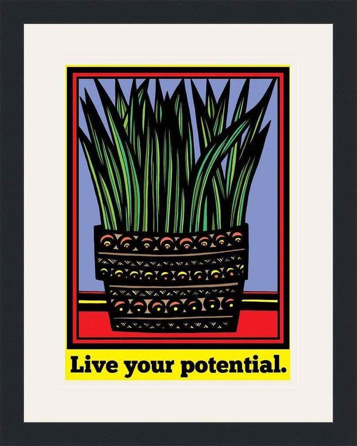 """""""Live Your Potential"""" 12"""" x 16"""" Framed Print Satin Black Frame Size: 18"""" x 22"""" Art by Eddie Alfaro Marker on Paper Photoshop Color #sketch #visualart #greatart #brooklyn #picture #painting #masterpiece #artwork #streetart #sketchbook #beautiful #paint #illustrations #drawing #bushwick #instaartist #photography #dibujos #arts #artoftheday #artwatchers #art #artlover #instagood #graphics #pencil #artists #williamsburg #graphic #drawings"""