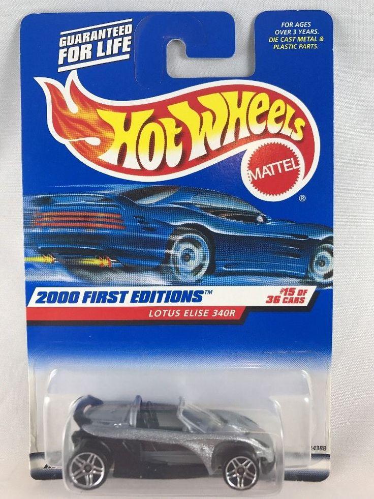 Hot Wheels 2000 First Editions Lotus Elise 340R  MOC Vintage Diecast #HotWheels #Lotus