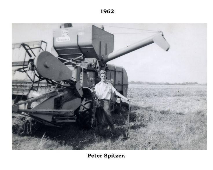 Bata Farm East Tilbury 1962 Ransomes Combine Harvester Peter Spitzer