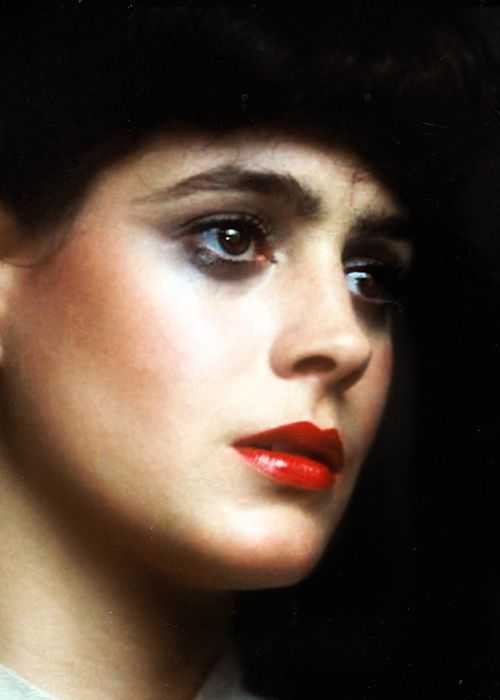 Sean Young in Blade Runner #cellardoor                                                                                                                                                                                 More