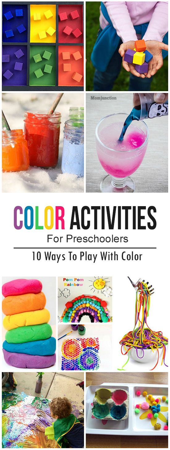 Coloring Activities For Preschoolers: Your kids may make a mess in the process…