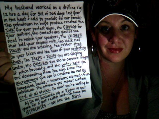 Oilfield Wife Speaks Out - Drilling Ahead