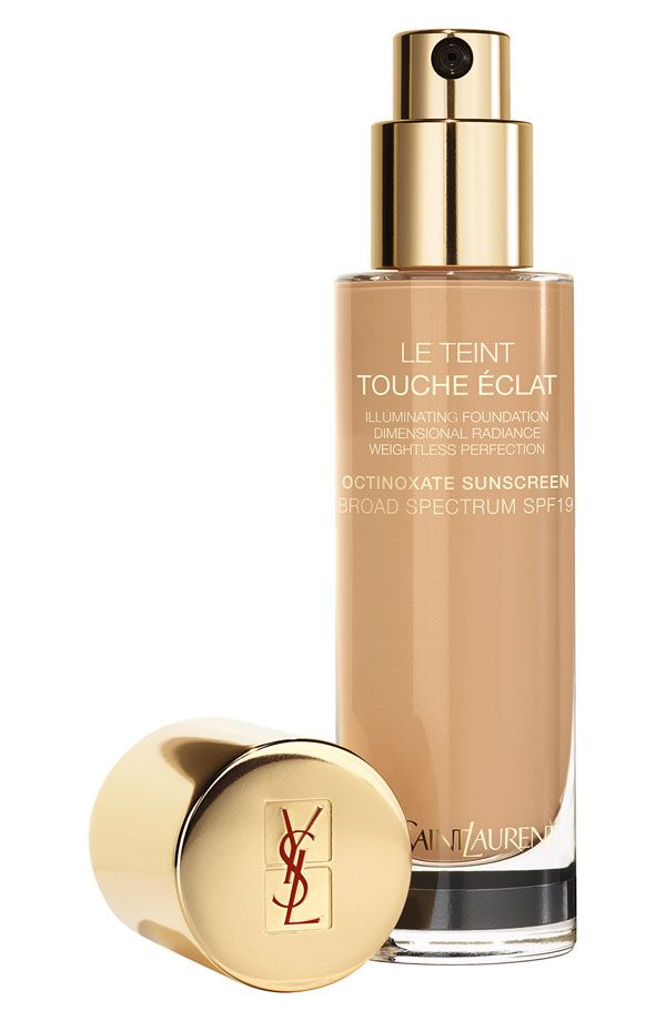 YSL 'Touche Eclat' Foundation SPF19 ($55, nordstrom.com). I picked this up in Beige Dore 50 - which is a tad too light, but will match me perfectly during Winter. It really gives skin a lovely glow. I'm concerned about the sunscreen, silicone and bismuth oxychloride giving me a rash, but so far so good!