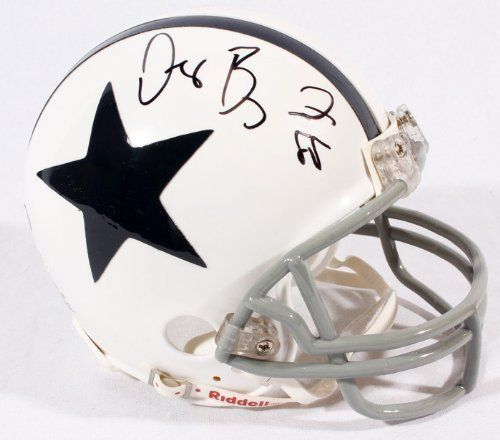 Dez Bryant Signed Thankgiving Day Mini Helmet - JSA Certified - Autographed NFL Mini Helmets by Sports Memorabilia. $114.97. Dez Bryant Signed Thankgiving Day Mini Helmet - JSA. Amazing autograph quality. You have to love stats like that, and they explain why pieces like this are prized by collectors. It's not easy to get a high quality piece like this, since Dez Bryant has a reputation for not scheduling many official signing sessions. Unlike other online sports memor...
