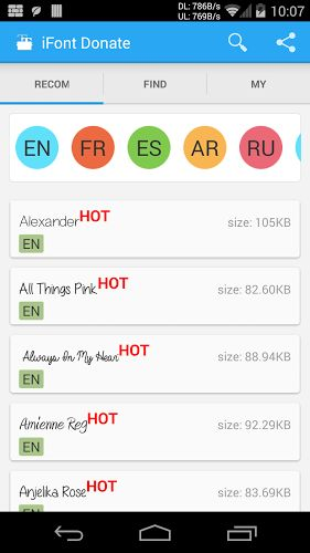 AndroidWorld: iFont(Fonts For Android) Donate v5.4.3 Paid Patche...