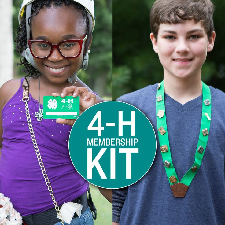 You love 4-H, but are you showing it? Pre-order the new Membership Kit today!