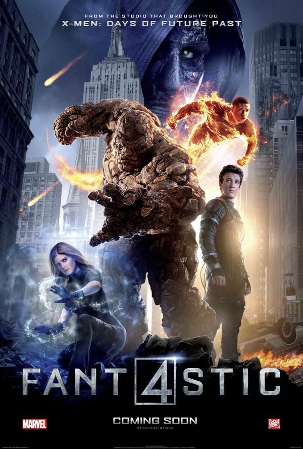The FANTASTIC FOUR Assemble in 3 New Character Posters — GeekTyrant