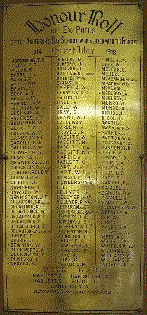 Anderson's Bay School Roll of Honour - Historypin   Walking with an Anzac