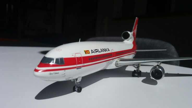 Copyright Alfred Gurp | AIRLANKA TRISTAR | SCALE 1:200