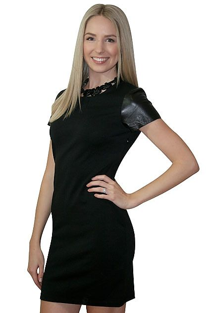 Elliatt Leather Chain Dress » online clothing shop with top fashion brand dresses, tops, skirts, jackets for women.