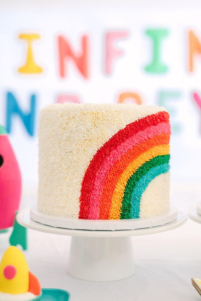 1001 Kindergeburtstag Ideen Spiele Dekotipps Und Bastelideen Geburtstag Kuchen Regenbogen Geburtstagskuchen Einhorn Geburtstagskuchen