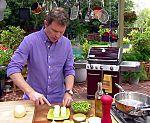 Grilled Potato Salad with Arugula, Goat Cheese and Lemon-Mustard-Tarragon Vinaigrette Recipe : Bobby Flay : Food Network