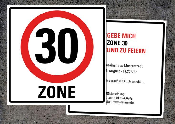 25+ best einladung 30 geburtstag ideas on pinterest, Einladungsentwurf