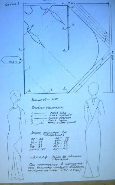 Vionnet? look at that single pattern piece! -- the corner inset into that huge slash makes that big ripple below the left knee. *Wow.*   ... How wide does the fabric have to be? I guess you can piece it on the grain, but I'd be afraid to.