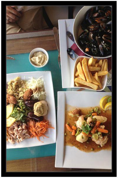 yacht Wind Surf: stuffed crab, spicy salt cod and salt cod fritters ...