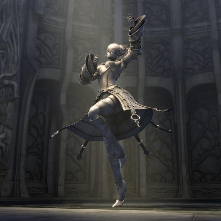 Dark Elf Female Priestess
