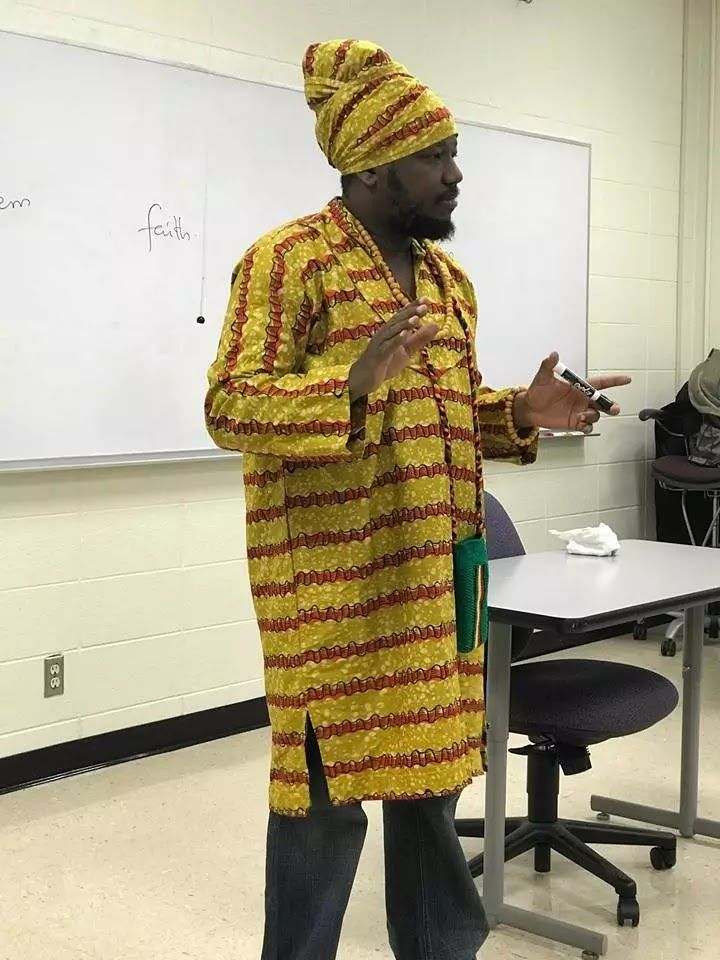 Abubakar Ahmed, popularly known as Blakk Rasta, is now a lecturer at the University of Central Missouri in the United States of America. T...