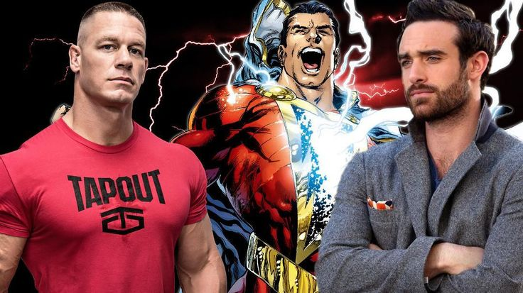 BREAKING! John Cena And Joshua Sasse Reportedly Frontrunners For The Role Of 'SHAZAM'! *LINK IN BIO* #comicboiz #shazam #dc #dceu #movie #film #like #love #follow