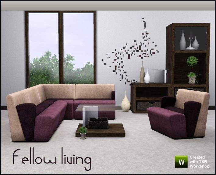 Set Contains Living Chair Sectional Chairs Left Right Middle And Corner Coffee Table End Cabinet Wall Art Vases