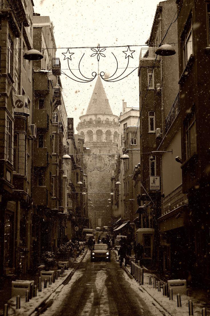 Galata Tower - by Onur Pinar