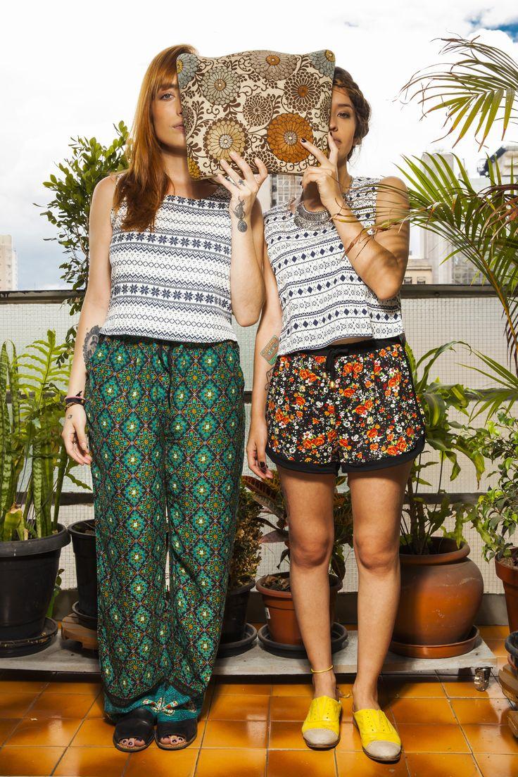 Não Vivo Sem Estampas <3   #look #nvs #store  #cool  #editorial #moda #fashion #lookbook #photoshoot #girls #flowers #green #ootd #cleaver