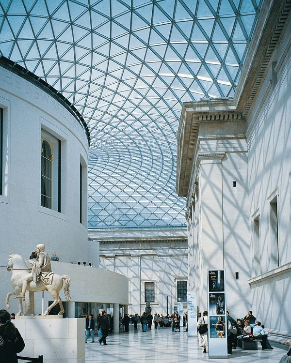 The British Museum is the largest museum in the United Kingdom with a collection of eight million objects