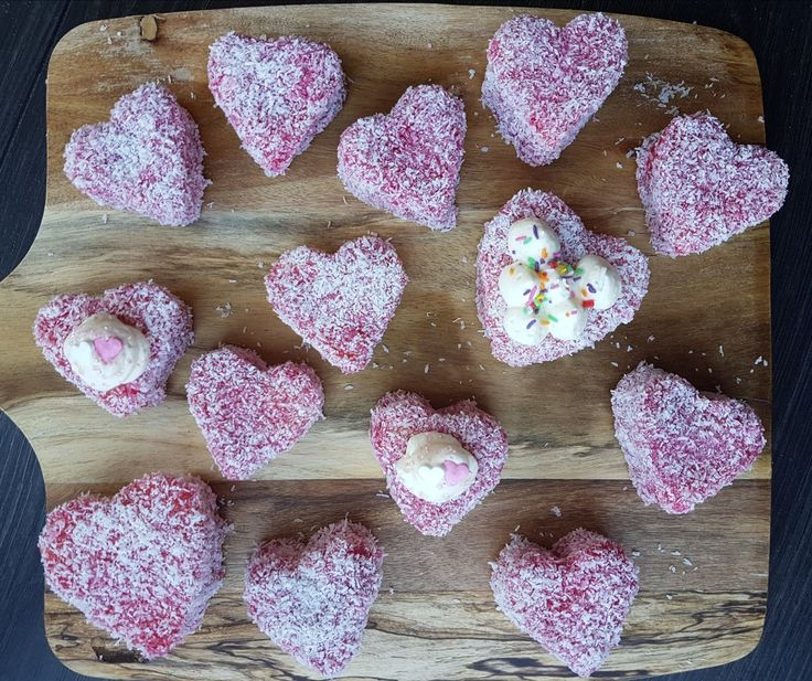 Try these Love Heart Sponges.