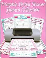 Bridal Shower Games Never boring - not with these games! Fun Bridal Shower games, activities, and icebreakers your guests will actually enjoy... and you can personalize each one for the bride-to-be!
