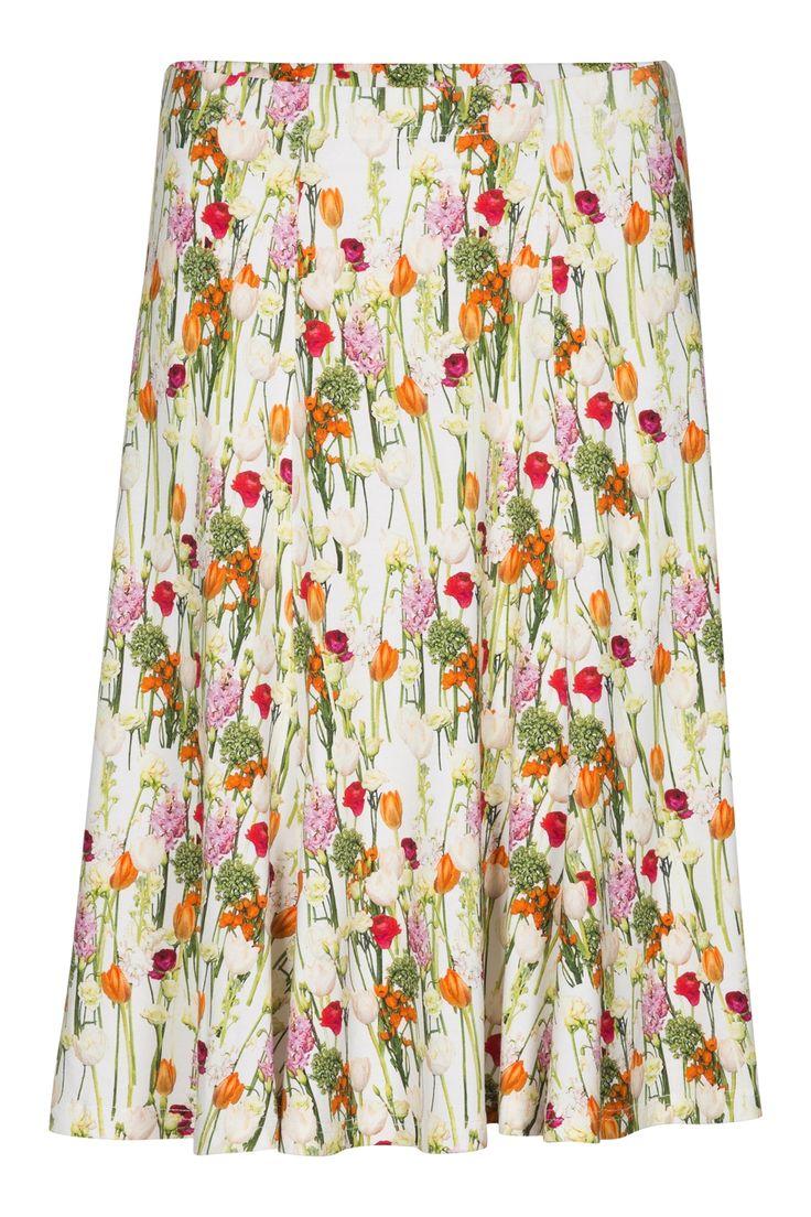 Summer Dance Print Skirt  - 1