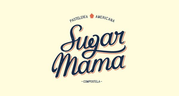 Logo Design by David Sierra for Sugar Mama