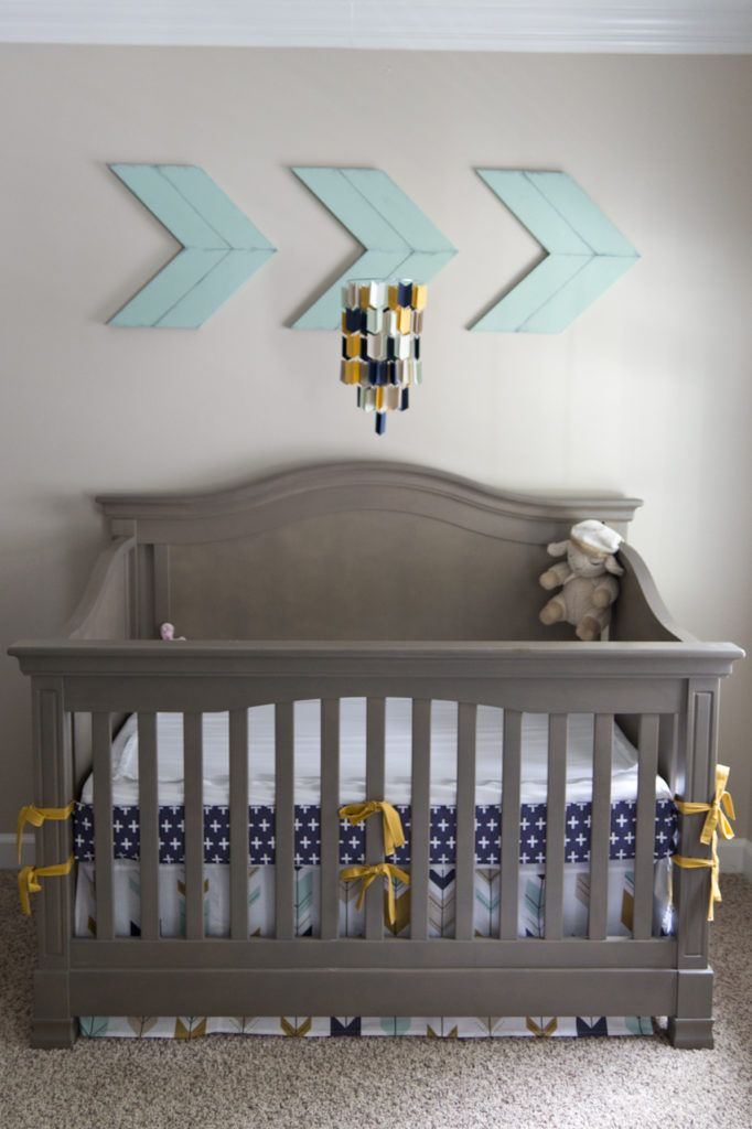 Projectnursery.com has done a wonderful job styling our Aztec Arrow Paper mobile! Customize your own colors at www.etsy.com/shop/TrueLoveAndPaper
