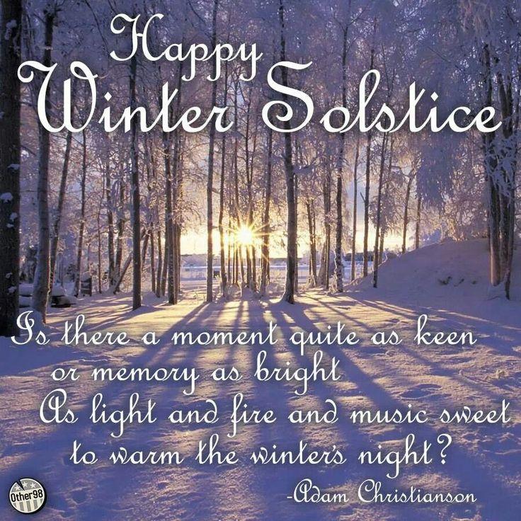 Happy Winter Solstice !