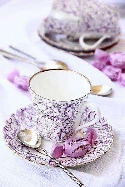 Thé à la Lavande , pour mon amie Jawsybo!!!!