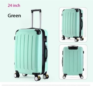 24 inches,Women Suitcase For Travel,bags on wheels,Trolley Case,ABS luggage bag,Duffle Bag,Travel bags,Travel Suitcases
