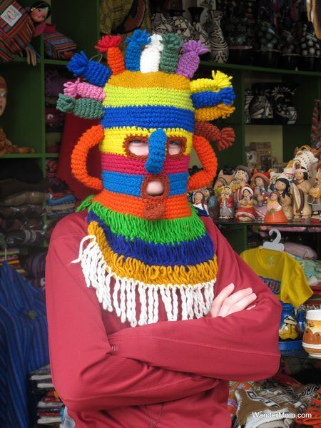 A craft market in Lima is one stop on Wandermom's ATW trip with kids.