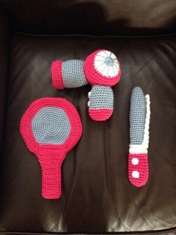 Crochet Hair Styling Toy - Childrens Hair Salon Toy Set