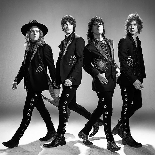 THE STRUTS are keeping Glam Rock alive. I had a great day shooting a Jack Daniels Amplify Your Life campaign  with these guys... let's just say the soundtrack for the day was same as my playlist which included Bowie, Stooges, TRex, Queen, Stones. It's like these artists are passing the baton - #thestruts #glamrock #rocknroll #band