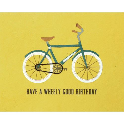 Wheely Good Birthday Card - Philippines