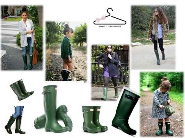Botas Hunter. Green. www.cuquetticomplementos.wordpress.com