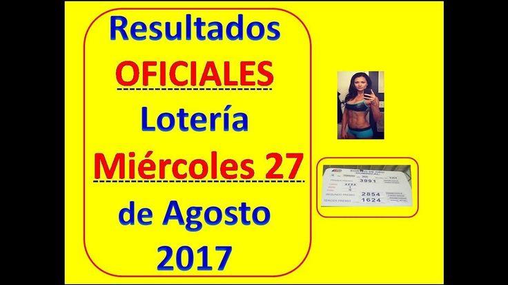 Resultados Sorteo Miercoles 27 de Septiembre 2017 Loteria Nacional Panama : Que Numeros Jugaron