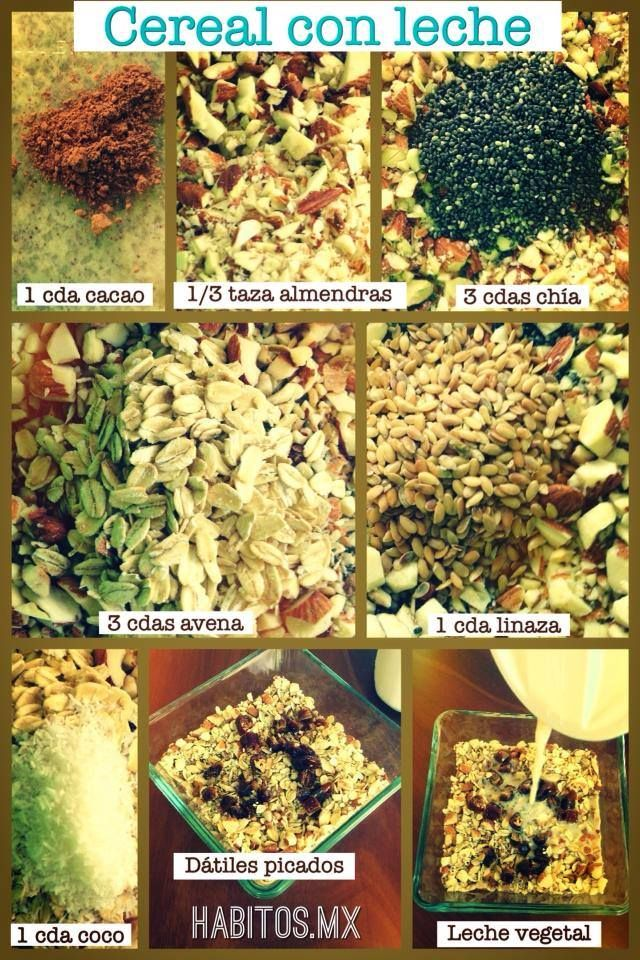 Cereal con leche #hábitosmx #hábitos #salud #health