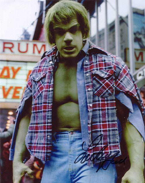 Lou Ferrigno, The Incredible... Bulk buyer of steroids! Richard Ambrose