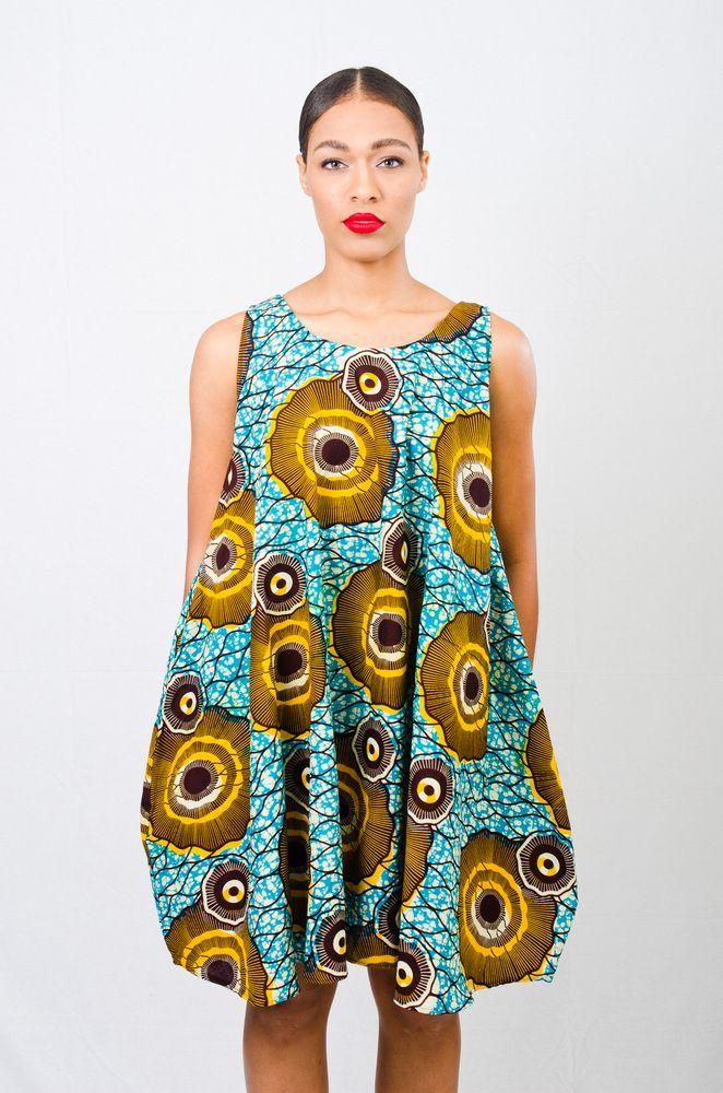A.Au Baby Doll Dress ~African fashion, Ankara, kitenge, African women dresses…