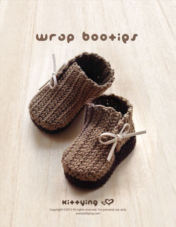 Wrap Baby Booties Crochet Pattern, Baby Bootie, baby booties, Baby Booties Pattern, Baby Crochet Boots, Baby Crochet Shoe, Baby Pattern, Baby Shower Gift,Baby Wrap Booties, booties pattern, Crochet Baby Booties, Crochet Baby Patterns, Crochet Booties Pattern, Crochet Pattern, Safari Bootie PATTERNS, Size 1 to 3