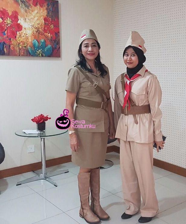 Sewa Kostum Pejuang Peta 1945 di Jakarta hub 0817 661 6654