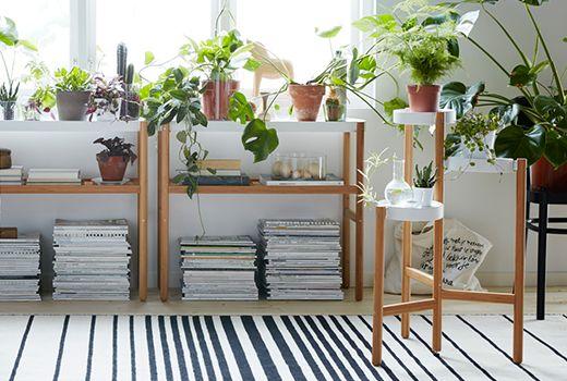ikea satsumas piedestal bambu langer schmaler flur pinterest schmal und flure. Black Bedroom Furniture Sets. Home Design Ideas