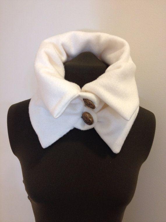 Fleece Scarf Womens Neck Warmer Cowl Scarves by sweetnola, $25.00